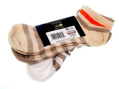 3 Paar Damen Sneaker-Socken mit Ringel