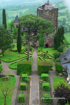 Medieval Castle,Turenne,France.