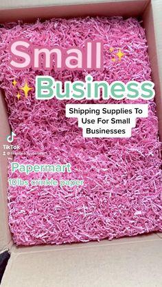 Best Small Business Ideas, Small Business Plan, Small Business Marketing, Business Baby, Etsy Business, Craft Business, Online Business, Packaging Supplies, Packaging Ideas