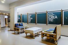 Think Corner pop-up store at Yliopistonkatu 3 on Behance