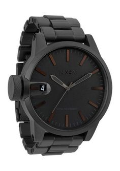The Chronicle SS in Matte Black, Nixon