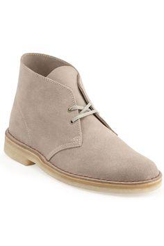 Clarks Casper Boots In Sand