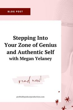 In episode 37 of The Podcast Podcast, host Tara Counterman invites Megan Yelaney, a business coach that helps online coaches scale their business by identifying their unique standout method. She is also the host of The #PrettyAwkward Entrepreneur podcast. Listen in to hear all about Megan's story as well as her unique coaching methods that have helped her achieve massive success. | SUCCESS MINDSET | LAW OF ATTRACTION | ONLINE BUSINESS MOTIVATION | Mindset Quotes, Success Mindset, Positive Mindset, Business Coaching, Business Tips, Online Business, Online Entrepreneur, Entrepreneur Quotes, Growth Quotes