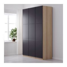 pax kleiderschrank 150x60x236 cm scharnier sanft schlie end ikea schlafzimmer. Black Bedroom Furniture Sets. Home Design Ideas