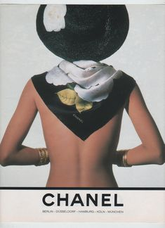 Helena Christiansen for Chanel, photo by Karl Lagerfeld, 1990