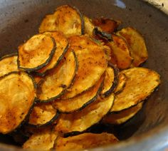 Eating raw zucchini is easy with this recipe. Just make sure you make a lot because they will disappear. Before I even started eating a raw food diet, I tried making dehydrated zucchini chips and I wasn't too excited. You don't have to be on a raw vegan diet to enjoy these yummy treats.