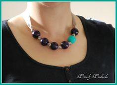 Heavenly Handmades: Wooden Bead Necklace