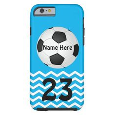 Your COLORS and Personalized Soccer iPhone 6 Plus Case (or choose an Older Soccer iPhone Case or other devices)  Girls Tough iPhone 6 Plus Cases. CLICK: http://www.zazzle.com/personalized_soccer_iphone_cases_for_girls-179407309050704280?formfactor=apple_iphone6&view=113623822074900028&rf=238147997806552929 Turquoise Blue iPhone 6 Plus Cases for Girls.  HERE: http://www.zazzle.com/littlelindapinda/gifts?cg=196413562739864280&rf=238147997806552929 Help  CALL Linda: 239-949-9090