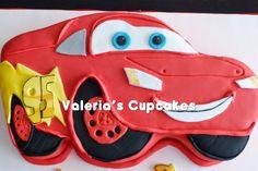 Valeria´s Cupcakes: Rayo McQueen