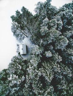 Des maisons complètement seules au beau milieu de la nature, pour ceux qui veulent se couper du monde | Buzzly