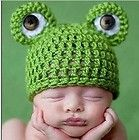 Cute 3-12 Months Newborn Baby Infant Frog Costume Photo Photography Prop Hat Cap