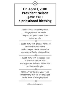 We can only be recipients of priesthood blessings if we have FAITH - in the priesthood, in the authority, in taking inspired action… Lds Quotes, Religious Quotes, Great Quotes, Quotes To Live By, Inspirational Quotes, Quotes 2016, Gospel Quotes, Mormon Quotes, Spiritual Thoughts