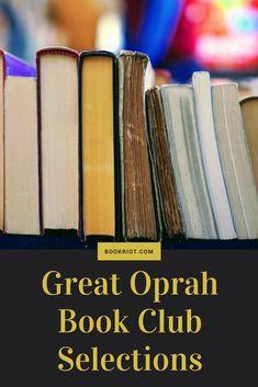 Great Oprah book club selections