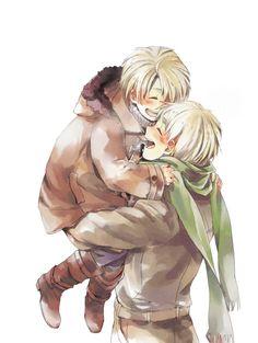 Hetalia America and England. So cute~! :D the cuteness is killing me !! ❤