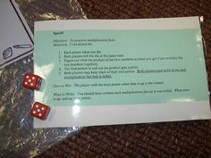 Sometimes when a child struggles in math - we avoid speed games - but this one can be played alone- with a group - or with a parent.  Its great practice and a great morale booster for the taunting math speed games!