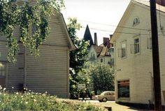 Former Viipurintie and Valtionhotelli