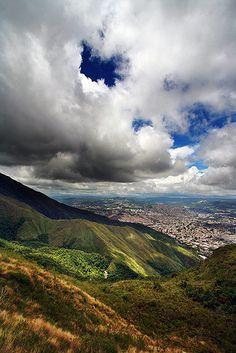 Cerro Avila. Caracas, Venezuela. Vista desde piedra el indio.