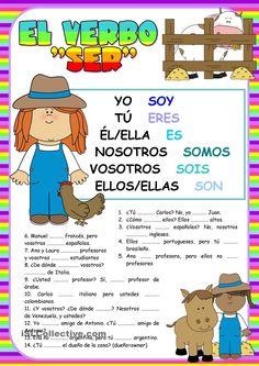 El verbo SER - for kids!!