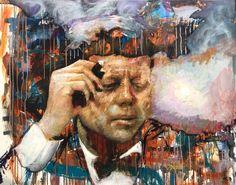Peter Donkersloot John F. Kennedy Excellent Art Utrecht - Holland