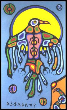 NORVAL MORRISSEAU BLOG: >>> Downloadable Norval Morrisseau Forensic Reports (Part I) Native Art, Native American Art, Native Symbols, Tribal Drawings, Art Drawings, Eagle Art, Haida Art, Inuit Art, Les Religions
