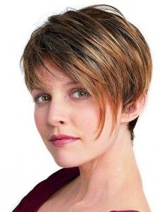 Women Short Hairstyles for Thick straight hairs