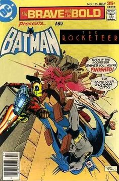 Super-Team Family: The Lost Issues!: Batman and The Rocketeer