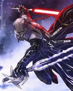 Star Wars is an American epic space opera franchise, created by George Lucas and centered around a film series that began with the eponymous Star Wars Sith, Rpg Star Wars, Images Star Wars, Star Wars Characters Pictures, Star Wars Pictures, Star Wars Concept Art, Star Wars Fan Art, Galen Marek, Space Opera