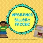 Use the inference gallery to introduce how to infer.  This freebie is a simple way to get students to think about their thinking....