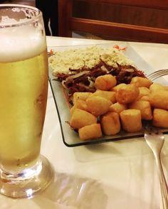 Pra fechar a noite carne seca desfiafa com aipim do  @pressaoaltarj #comidadebuteco #MiguelPereira #riointerior #errejota #serraacima #instafood #foodie ##BalaiodeEstiloS