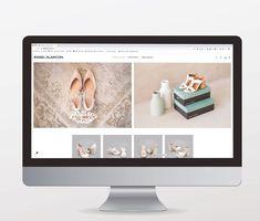 La entrada TIENDA ONLINE PARA ÁNGEL ALARCÓN se publicó primero en Azalea comunicación. Store Design, Dress Shoes, Entryway, Over Knee Socks, Creativity
