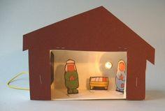 Kerststal met een Lichtje - WebGUI Bible Crafts, Nativity, Xmas, Christian, Advent, Navidad, Noel, Yule, The Nativity