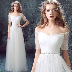 Elegant white Dress/ Ivory wedding Dress/Red Prom dress/Bridal Wedding Party Dress,Bridal Prom/ Bridesmaid Dress