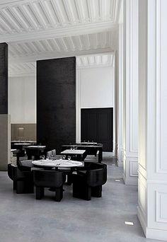Pal's restaurant project by Joseph Dirand architecture _