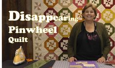 Disappearing Pinwheel Quilt - Quilting Made Easy