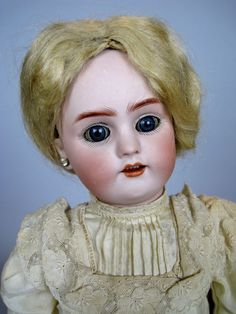"Antique 14"" Simon Halbig German Bisque Head Doll ~ So Sweet!"