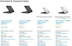 Save up to 56% Overstock Clearance PCs at Dell while they last! Free shipping! The offer ends 31/07/2015.