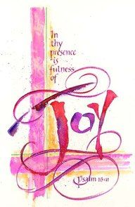Psalm 16.11-In your presence there is fullness of Joy. This reminds me of the Rainbow Garden, by Patricia M. St. John