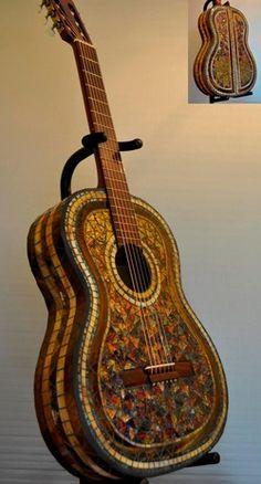 mosaic guitar 4