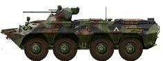BTR-80A, Russian KFOR Batallion, Bosnia
