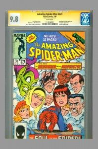 Amazing Spider-Man CGC SS 9.8 signed by Stan Lee. #stanlee #spiderman #cgcss