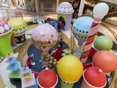 Santa photo centre - design, build and installation.