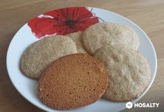 Édes zabfalatok Healthy Sweets, Bread, Snacks, Cookies, Recipes, Culture, Foods, Breads, Crack Crackers
