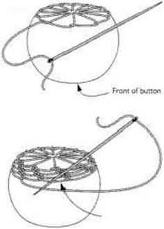 heirloom button instructions