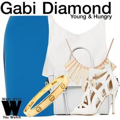 Inspired by Emily Osment as Gabi Diamond on Young and Hungry