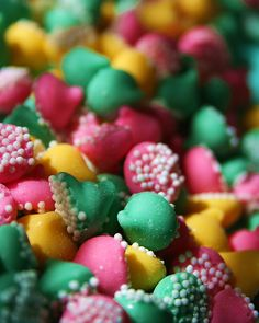 Colorful Pastel Nonpareils by Pink Sherbet Photography, via Flickr