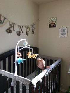 No sew Crib rail cover diy no pool noodle with quilt batting I made the other da. No sew Crib rail Baby Crib Diy, Baby Cribs, Crib Rail Cover, Quilt Batting, Noodle, Quilts, Sewing, Bed, Modern