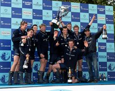 The BNY Mellon Boat Race winners. #BNYMellonBoatRace #ChampagneBollinger