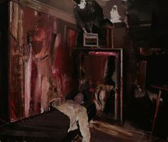 Adrian Ghenie : The Collector 4, 2009, oil on canvas, 200 x 240 cm