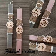 Mrs Always Right, Mr Right, Napkin Rings, Easter, Personalized Items, Handmade, Inspiration, Decor, Biblical Inspiration