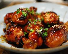Easy Sesame Teriyaki Drumsticks - one pot recipe done in 30 minutes, no marinade step required!
